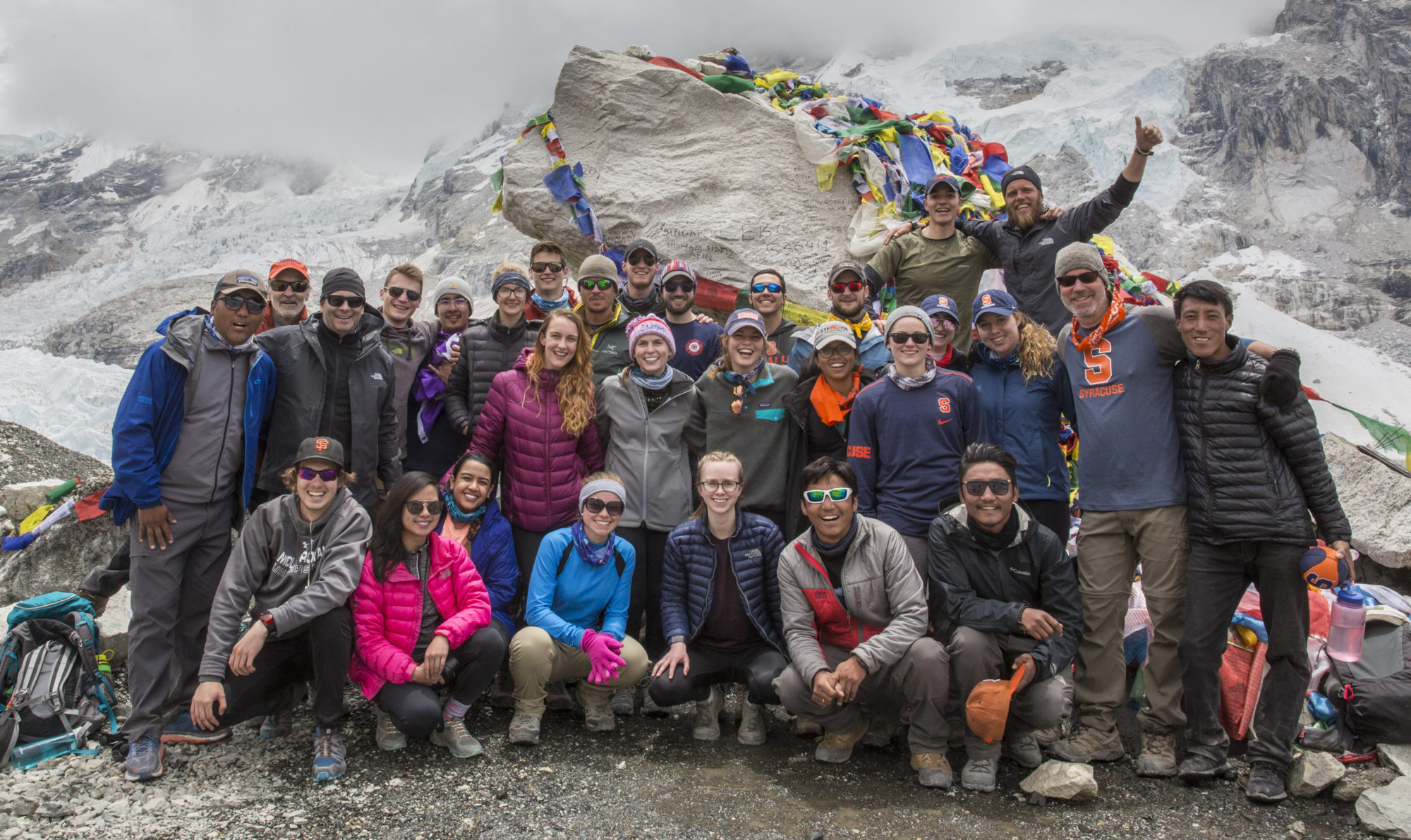 SU Mt. Everest Base Camp 2018